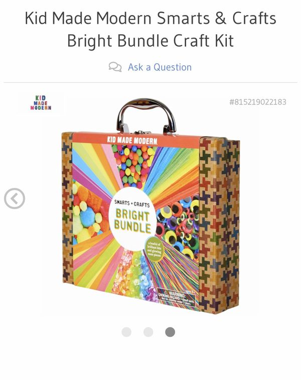 Kid Made Modern Smarts & Crafts Bright Bundle Craft Kit