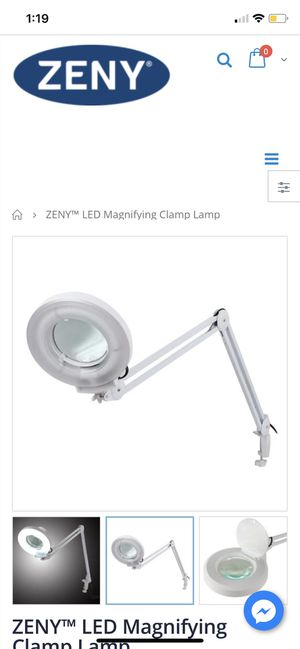 BRAND NEW IN BOX-- LED Magnifying Clamp Lamp for Sale in Bakersfield, CA