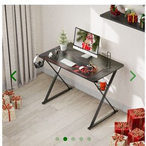 Eureka Gaming® Captain X Series 39'' E-sport Desk, Home Office Gaming Computer Desk, X Shaped Gamer Workstation with Free Controller Stand, Cup Holder for Sale in La Habra, CA