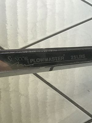 Suncor flowmaster Stainless steel polished Anchor 25 lb for Sale in PUEBLO DEP AC, CO