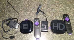 2 Roku HD boxes for Sale in Bethlehem, PA