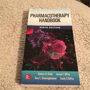 PHARMACOTHERAPY HANDBOOK - Ninth Edition for Sale in Atlanta, GA