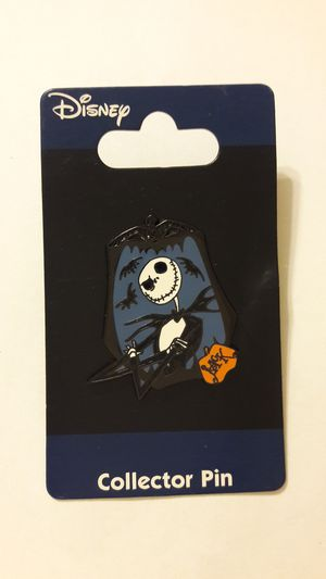 Nightmare before Christmas Jack Jerry Leigh pin MINT on card for Sale in Fort Lauderdale, FL