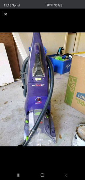 Bissell ProHeat Pet for Sale in Katy, TX