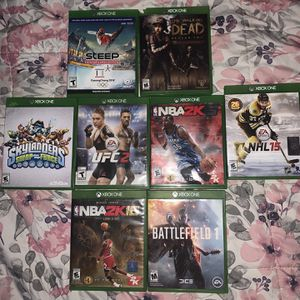 9 Xbox one Games Lot for Sale in Glendale, AZ