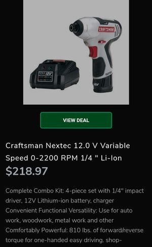 Craftman Nextec for Sale in Dallas, TX