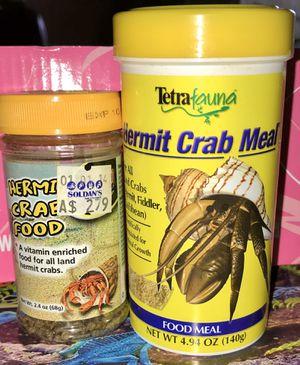 Hermit crab food for Sale in Lansing, MI