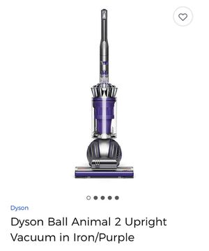 Dyson Ball Animal 2 Upright Vacuum in Iron/Purple for Sale in Stillwater, OK