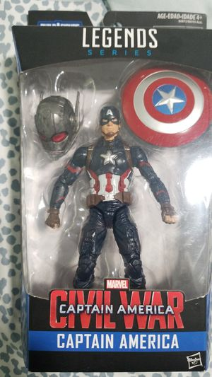 Marvel Legends Captain America Civil War for Sale in Fort Lauderdale, FL
