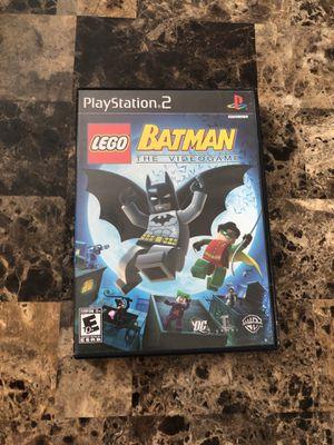 Playstation 2 Corvette Lego Batman The Video Game Bundle For Sale