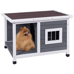 Small Dog House with Shelter Doghoue Porch Shade Backyard Portable Pet Home for Sale in Chicago, IL