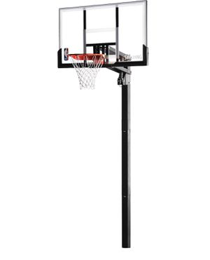 "Spalding acrylic in-ground basketball hoop 54"" backboard for Sale in Austin, TX"