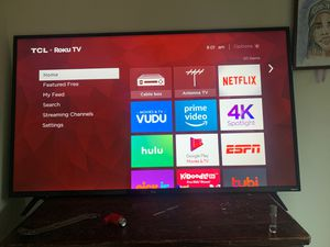 "TCL Roku TV 55"" for Sale in Washington, DC"