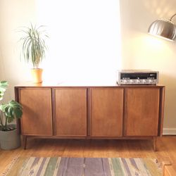 Vintage Mid-Century Walnut Credenza for Sale in West Linn,  OR