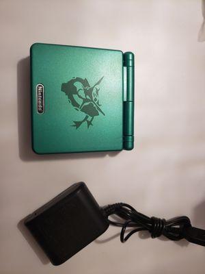 Gameboy advance sp rayquaza edition for Sale in Miami, FL