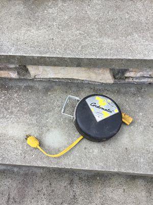 Retractable extension cord for Sale in Concord, MA
