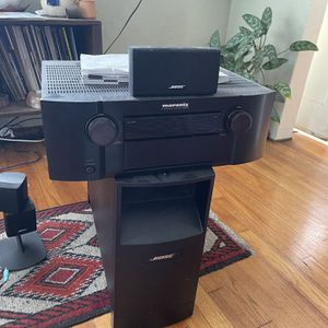 Surround System Marantz Bose Speakers for Sale in Chula Vista, CA