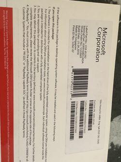 Microsoft Windows 10 home edition 64 BIT English 1PK DSP OEI DVD for Sale in St. Louis,  MO