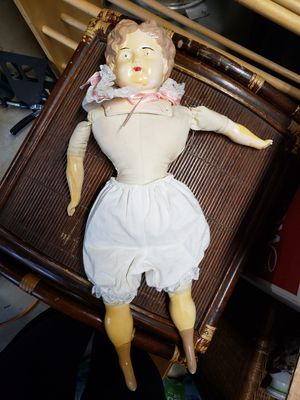 Antique German head porcelain doll for Sale in Greenville, SC