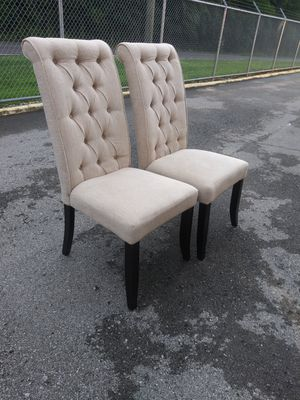 2 used high back upholstered chairs for Sale in Nashville, TN