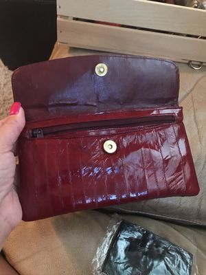 Genuine Eel skin wallet for Sale in Rio Vista, CA