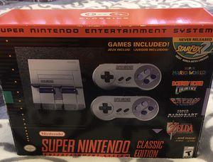 Súper Nintendo clássic edition for Sale in Riverside, CA
