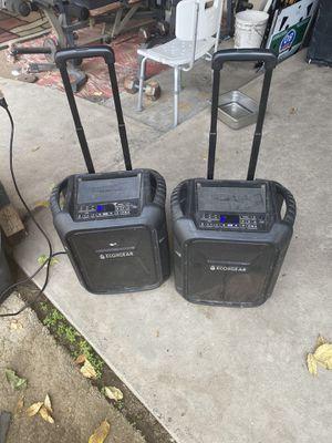 2 Ecoxgear bluetooth speaker for Sale in Fresno, CA