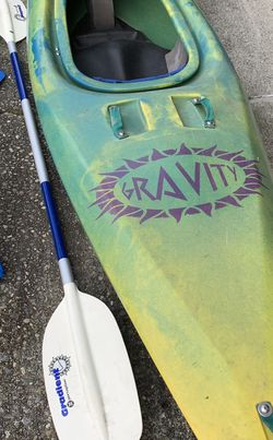 Whitewater Kayak, Floats, Paddle for Sale in Bellevue,  WA