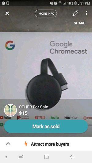 Chromecast for Sale in Detroit, MI
