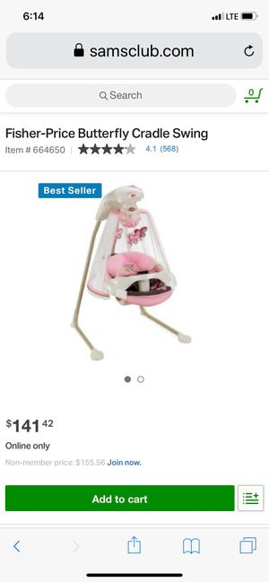 Fisher price baby swing for Sale in Conroe, TX