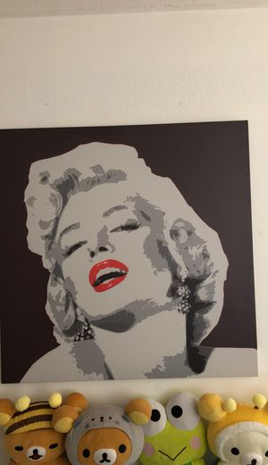 Marilyn Monroe canvas art picture for Sale in Riverside, CA