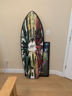 5'4 epoxy surfboard for Sale in Miami, FL