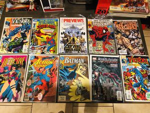 Comics and 7 magazines for Sale in Secaucus, NJ