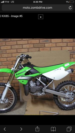 05 kx85 dirt bike for Sale in Baltimore, MD