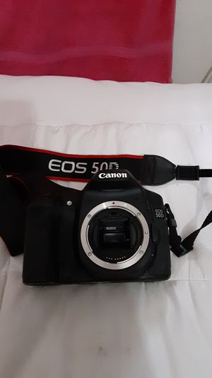 Canon Camera EOS 50D W/ Image Stabilizer Lens for Sale in Milpitas, CA