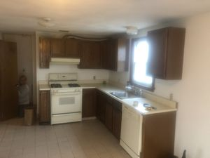 cabinets and kitchen accessories and lámp for Sale in Boston, MA