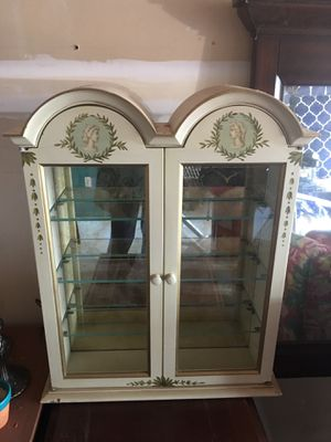 Beautiful FRENCH FLAIR DISPLAY /medicine CABINET for Sale in Morrisville, NC