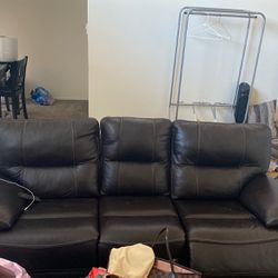 RECLINING COUCH WITH USB OUTLET , for Sale in Redwood City,  CA