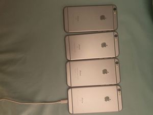 Unlocked iPhone 6&6s (very clean)$160 each for Sale in Laurel, MD