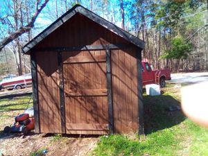 Cedar storage building 50 year limited warranty for Sale in Anderson, SC