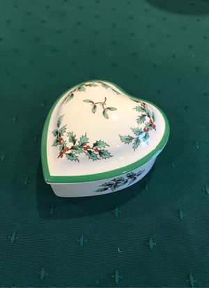 Spode covered candy/jewelry dish for Sale in Wakefield, MA