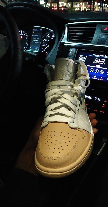 Jordan 1s Dip Toe White
