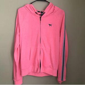 Victoria Secret Pink Hoodie Jacket Medium for Sale in Virginia Beach, VA