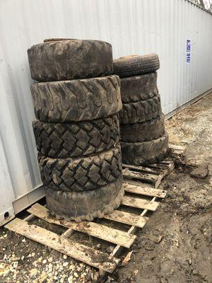 9 John deer skid steer tires for Sale in Deptford Township, NJ