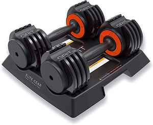 Adjustable dumbbells set (pair) 2.5 to 12.5 lb / 25 lb total for Sale in Bothell, WA