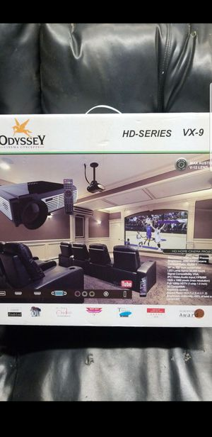 Projector with 72' screen for Sale in Odessa, TX