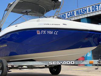 Boat For Sale, Ski Boat, Sea Doo Challenger 180, Deck Boat, Lancha, Bote Hablo Español for Sale in Pasadena,  TX
