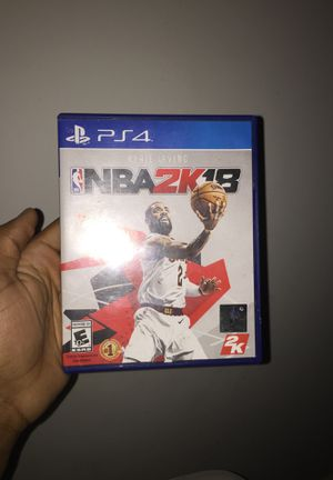 2k18 ps4 for Sale in Columbus, OH