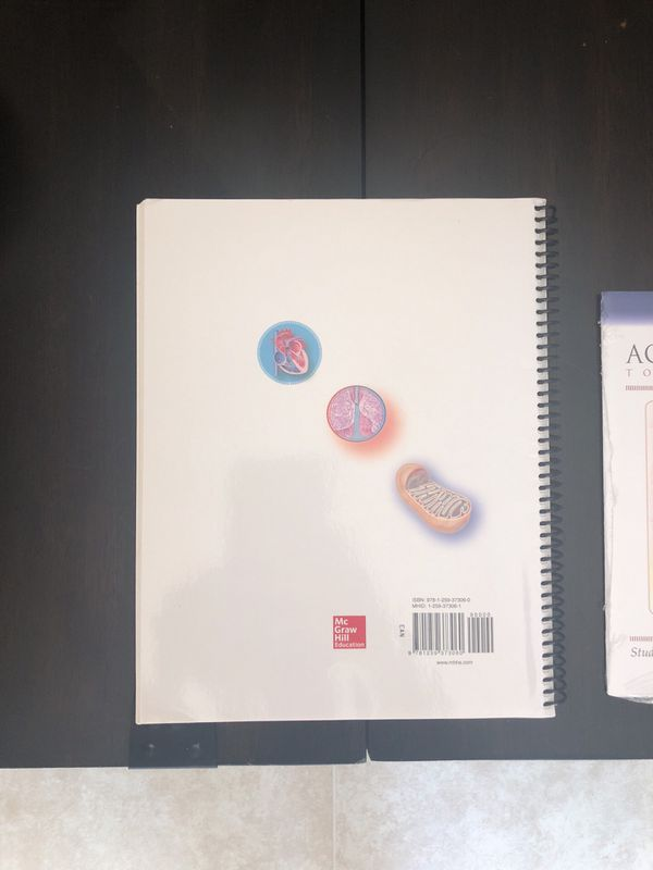 NEW never used Anatomy & Physiology sixth edition lab book & ACCESS CODE NEVER OPENED. Still with plastic wrapper.