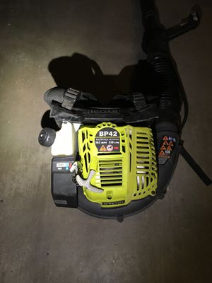 Ryobi backpack blower for Sale in Apple Valley, CA